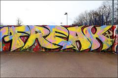 Freak (Alex Ellison) Tags: freak southlondon urban graffiti graff boobs halloffame hof