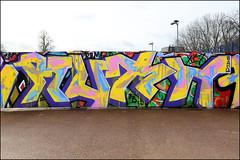 Ruth (Alex Ellison) Tags: ruth southlondon urban graffiti graff boobs halloffame hof