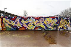 Poker (Alex Ellison) Tags: poker southlondon urban graffiti graff boobs halloffame hof