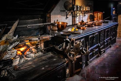 Grand kitchen castle interior - Château de Vaux-le-Vicomte (Maincy/FR)