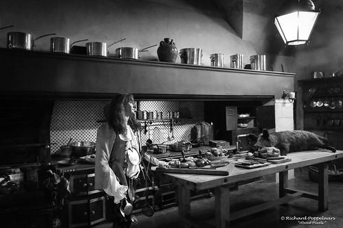 Castle kitchen interior - Château de Vaux-le-Vicomte (Maincy/FR)