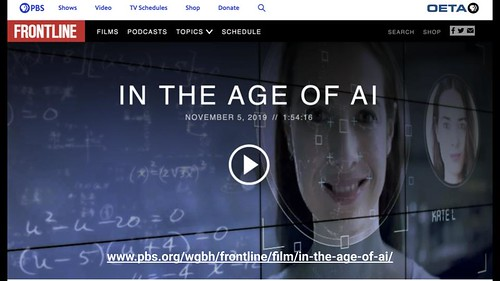In the Age of AI: PBS Frontline by Wesley Fryer, on Flickr