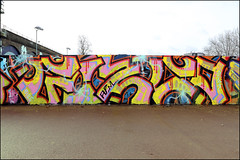 Gizco (Alex Ellison) Tags: southlondon urban graffiti graff boobs halloffame hof gizco