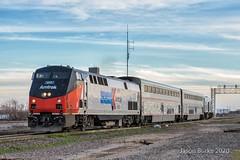 Amtrak Saginaw, TX (jtrainb) Tags: a822 amtrak bnsf fortworthsub junction railroads saginaw texas
