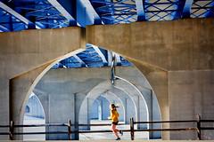 No Finish Line (s.w.Lepak) Tags: foxrivertrail foxriver runner running bluebridge