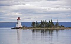 Lighthouse Baddeck 2018 (matthias416) Tags: canada kanada novascotia lake brasdorlake lighthouse leuchtturm see island insel clouds wolken nikon nwn yourbestoftoday