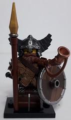 LEIF (krisdecatte) Tags: lego medieval minifigurines custom viking