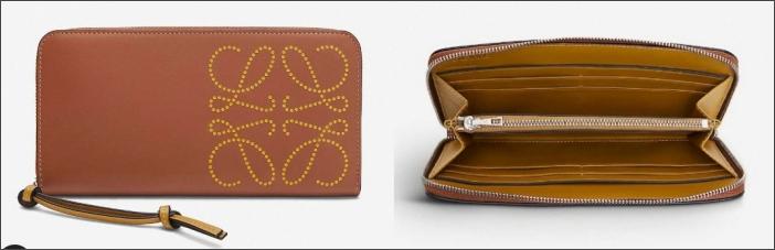 精品輕奢長夾皮夾推薦 Loewe