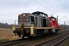 P2000419 (Lumixfan68) Tags: eisenbahn loks baureihe 295 363 dieselloks railsystems rp deutsche bahn db cargo rangierloks loktauscher lokzüge kunstlok