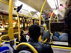 The Mellow Yellow (jonwaz) Tags: sweden gothenburg iphone design travel bus jonwaz transport yellow