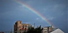 Un arco iris para este Martes (enrique1959 -) Tags: martesdenubes martes nubes nwn castrourdiales cantabria españa europa arcoiris