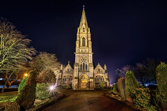 Church of the Immaculate Conception - Strabane Chapel (Gareth Wray - 13 Million Views, Thank You) Tags: northern ireland ni uk night stars astro chapel manfrotto sandisk scenic landscape riverscape county tyrone gareth wray photography strabane nikon nikkor wide lens sky tourist tourism mourne river site visit side grass british irish colourful nature photographer town lifford hill vacation holiday europe hedge flowers d850 1424mm garden church immaculate conception religious spire tower roman catholic holy parish camus architecture building 2020