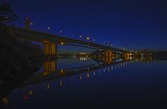 Varoddbridga, Kristiansand, Norway (gormjarl) Tags: kristiansand wather lake fjord sunset beach water sky natur night art light sun cloud landscape river norway city war varodbridge