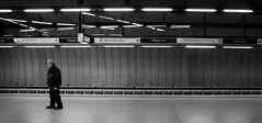 Guard (Missing Pictures) Tags: black blackandwhite budapest bw man magyarország underground undergroundcity metro streetphoto streetphotography europe eu guard