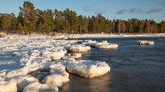Daylight (Mika Lehtinen) Tags: ice beach water blured ndfilter nd8 nikon d750 20mm winter cold