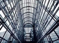 Steel + Glass (kuestenkind) Tags: shoppingcenter mall einkaufscenter aalborg weitwinkel canon dänemark denmark danmark 6d