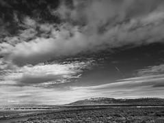 (el zopilote) Tags: clouds landscape albuquerque sandiamountains blackandwhite bw blancoynegro monochrome lumix noiretblanc nb bn g9 leicavarioelmarit1260mmf284asph newmexico westmesa