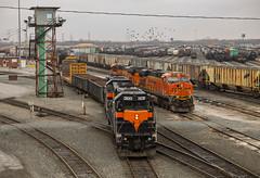 Final Days (SantaFe669) Tags: railroads railfanning es44c4 es44dc sd20 locomotives diesellocomotives trains bnsf indianaharborbelt