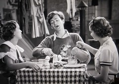 Mickey Mouse Shirt wearing Buddy Ebsen 5141 (Brechtbug) Tags: eleanor powell buddy ebsen cartoon shirt vilma musical scene from broadway melody 1936 mickey mouse disney character designed by artist ub iwerks screen grab screengrab