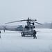 U.S. Marines with Marine Light Attack Squadron 369 conduct cold weather flight operations during Northern Viper