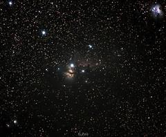flameedit2 (George Zois) Tags: nebula horseheadnebula flamenebula astrophotography deepspace d3300 dx samyang135mm skywatcher