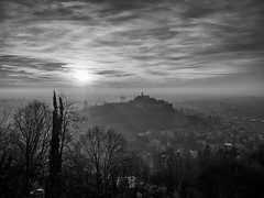 Hdr sunset (Riccardo Palazzani - Italy) Tags: castello tramonto brescia hdr high dinamic range castle sunset