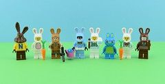 🐰Every LEGO Bunny Minifigure EVER MADE !🐇 (Alex THELEGOFAN) Tags: lego legography minifigure minifigures minifig minifigurine minifigs minifigurines bunny rabbit collection easter suit egg ears carrot green white brown girl nesquick chocolate