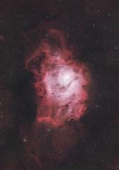 Lagoon Nebula (AstroBackyard) Tags: lagoon nebula astrophotography space stars stargazing night sky telescope zwo asi294mc pro color messier 8 m8