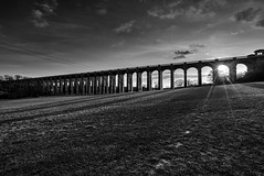 Ouse Valley Viaduct (RickybanPhotography) Tags: ouse valley viaduct balcombe brifge blackandwhite bw uk sussex