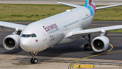 OO-SFK Eurowings Airbus A330-343 (-TK PHOTOGRAPHY-) Tags: oosfk eurowings airbus a330343 düsseldorf airport aviation canon 7d photography airplane