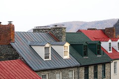 Harpers Ferry (West Virginia / US). (garyeales) Tags: jefferson county valley wv west virginia harpers ferry river potomac shenandoah