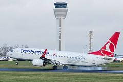 TC-JVS | Turkish Airlines | Boeing B737-8F2(WL) | CN 60021 | Built 2016 | DUB/EIDW 28/01/2020 (Mick Planespotter) Tags: avion aviation avgeek flugzeuge aircraft airport tower smoke 2020 dublinairport collinstown nik sharpenerpro3 flight plane planespotter airplane aeroplane tcjvs turkish airlines boeing b7378f2wl 60021 2016 dub eidw 28012020 b737 b738 canon eos 80d