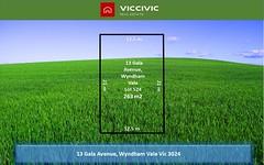 13 Gala Avenue, Wyndham Vale VIC