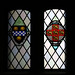 Stained glass windows: William Pitt and City of York