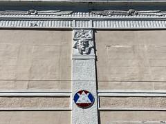 Masonic Hall Little Havana 1926 (Phillip Pessar) Tags: masonic hall little havana miami building architecture egyptian revival 1926