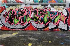 Keus (Alex Ellison) Tags: keus halloffame hof southlondon urban graffiti graff boobs