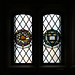 Stained glass windows: Fragments from the Houses of Parliament and Oxford University