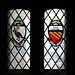 Stained glass windows: City of Liverpool and City of Manchester