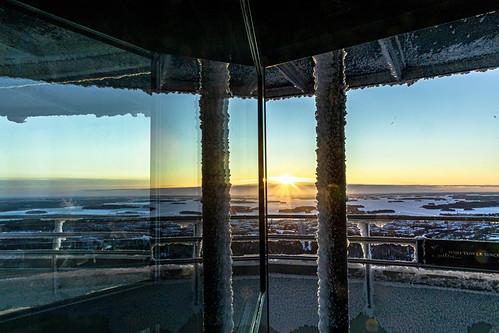 Puijon auringonnousu helmikuu 2020