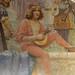 Buçaco, le salon - peinture murale