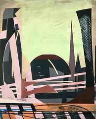 Jim Harris: Herzogreith. (Jim Harris: Artist.) Tags: art arte architecture kunst künstler kunstzeitgenössische painting peinture lartabstrait maalaus malerei bilder futurism futuristic schoolofthemuseumoffinearts schilderij