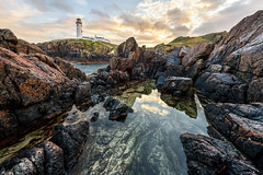 """""""Fanad Lighthouse Rock Pool"""" (Gareth Wray - 13 Million Views, Thank You) Tags: fanad head drive light house rock view scenic famous old building landmark monument tourist visit tourism seascape irish lowepro sea nikkor manfrotto ocean coast waves reflection wild atlantic way algae costal shore plants gareth wray photography nikon 1424mm uk dream photographer vacation holiday europe d850 abandoned tower irelands historic cliffs naural cove beach rocks rocky strand day erosion tide pool pond reflections"""