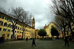 Firenze . (Piazza Santo Spirito) (terziluciano) Tags: firenze toscana piazzasantospirito brunelleschi basilica agostiniani canon6dmarkii piazza rinascimento