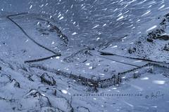 Winnats Pass, Winter Blizzard (John Finney) Tags: castleton derbyshire unitedkingdom blizzard winter winnatspass snow peakdistrict