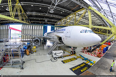 [ORY.2014] #Corsair.International #SS #CRL #Airbus #A330-200 #F-HBIL #Check.A #awp (CHRISTELER / AeroWorldpictures Team) Tags: corsairinternational corsair french airlines airliner ss crl fhbil plane airplane aircraft avion airbus a330 a332 a330243 cn320 rr trent checka maintenance staff planespotting spotting hangar paris orly ory airport lfpo france spotter planespotter stephanechristeler avgeek aviation photography aeroworldpicturescom nikon d300s nef raw lightroom fisheyes nikkor chr 2014