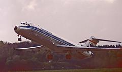 Dynamic Douglas (crusader752) Tags: aviaco mcdonnelldouglas dc930 ecdgd castillodearcos zurich kloten switzerland 1986
