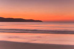 Hot Summer Dawn Seascape (Merrillie) Tags: daybreak sunrise nature water landscape sky newsouthwales sea uminabeach morning waves beach ocean coast nsw earlymorning coastal dawn outdoors waterscape australia centralcoast seascape seaside