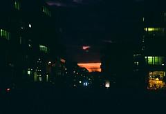 After sunset (mkk707) Tags: film analog 35mmfilm zeissikontenaxii zeissikonstyle carlzeissjenatessar204cm kodakcolorplus200 wwwmeinfilmlabde vintagefilmcamera vintagelens rangefinder nightshot nightcolours nightonfilm nightonearth