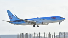 Boeing 737-8K5 c/n 35146 TUI Fly Belgium registration OO-TNC (Erwin's photo's) Tags: amsterdam airport schiphol aircraft aviation civil jetliners flying the netherlands boeing 7378k5 cn 35146 tui fly belgium registration ootnc
