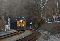 Now Entering (Tristan_Miller) Tags: csx coal train nrg new river gorge signals brooks wv west virginia